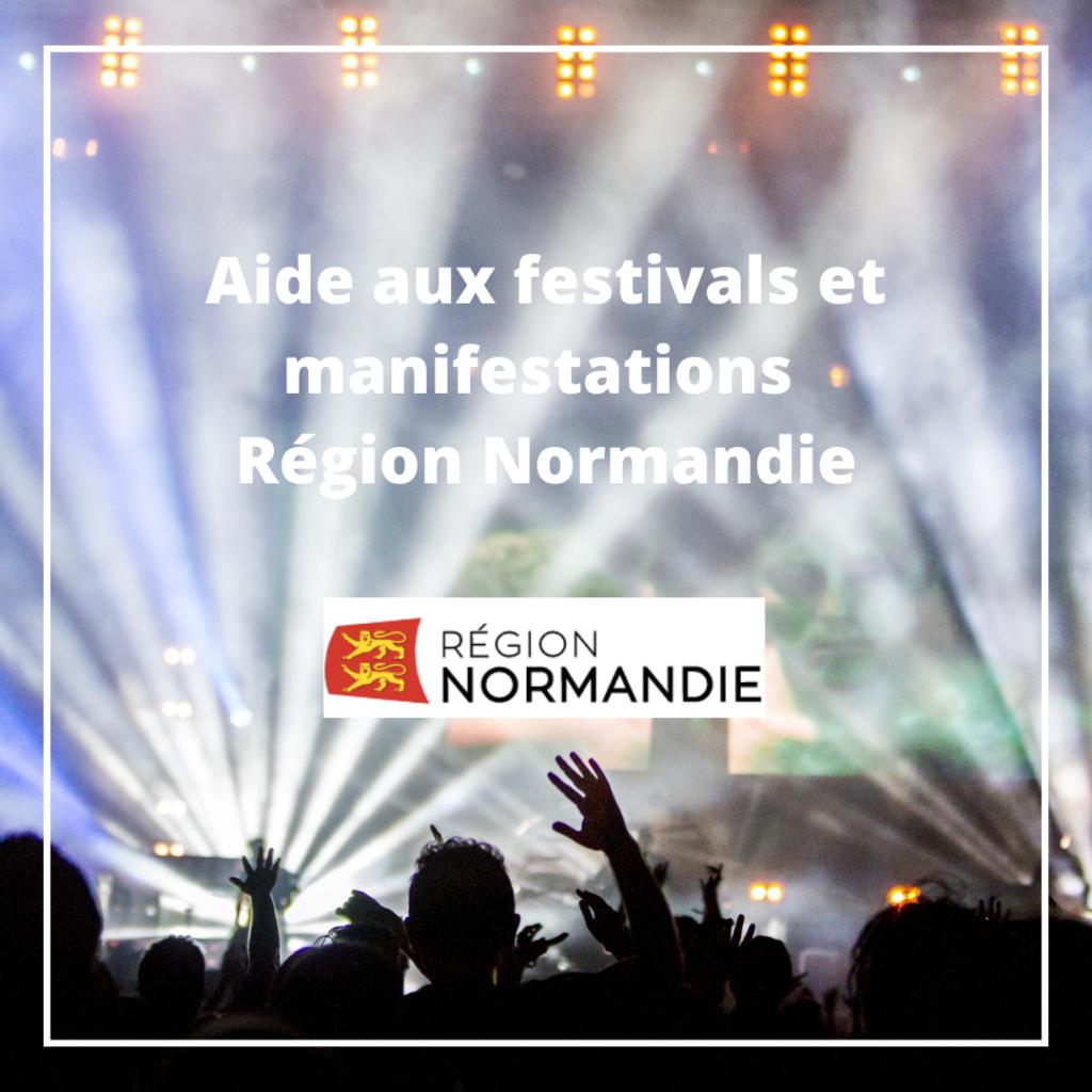 Aide aux festivals et manifestations - Région Normandie