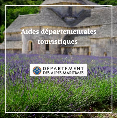 Aides départementales touristiques - Alpes-Maritimes