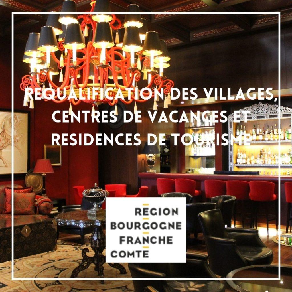 Requalification des villages de vacances, des centres de vacances et des résidences de tourisme - Région Franche-Comté