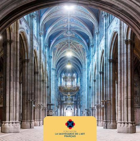 Mécénat des églises et chapelles de France - La sauvegarde de l'art français