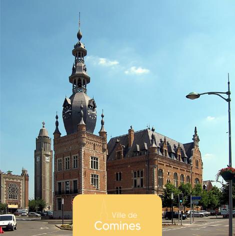 Subventions de façades - Ville de Comines